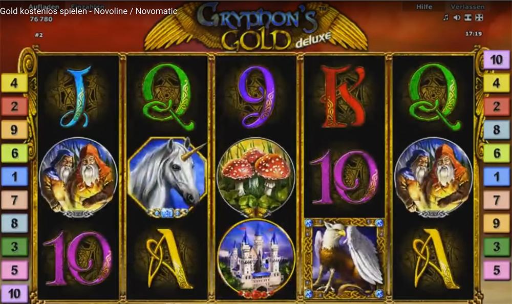 игровой автомат gryphon s gold novomatic картинки