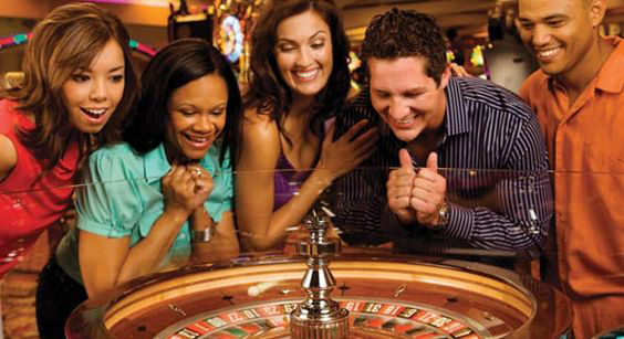 Roulette in casino, image