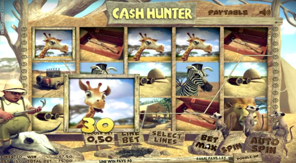slot machine Sheriff Gaming - Cash Hunter, image